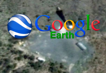 google earth nota Área 51